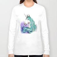 unicorn Long Sleeve T-shirts featuring Unicorn by Pendientera