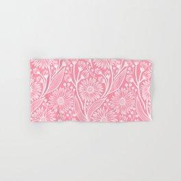 Light Pink Coneflowers Hand & Bath Towel