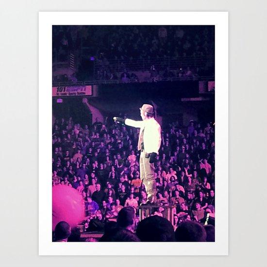 Concert Photo Art Print