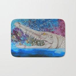 Albino Crocodile Bath Mat
