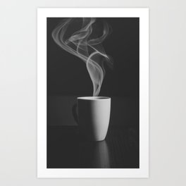 Just Cofee Art Print