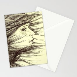 Swept Away Stationery Cards