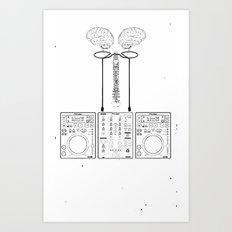 The Pioneer (CDJ Quick Connect Manual) Art Print