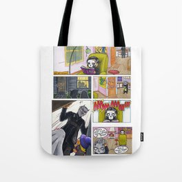 Ghost in Halloween Tote Bag