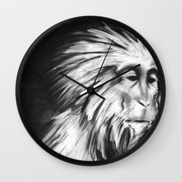YEAR OF THE MONKEY Wall Clock