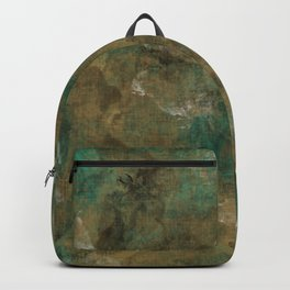 Patina Brass Backpack