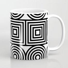 rounded lines Coffee Mug