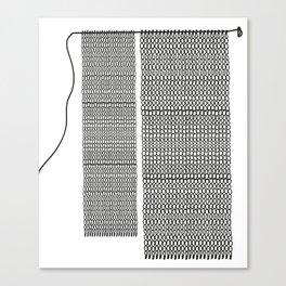 Oh mailles! Tricot graphique — 1 Canvas Print