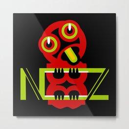 Hei Tiki New Zealand Metal Print