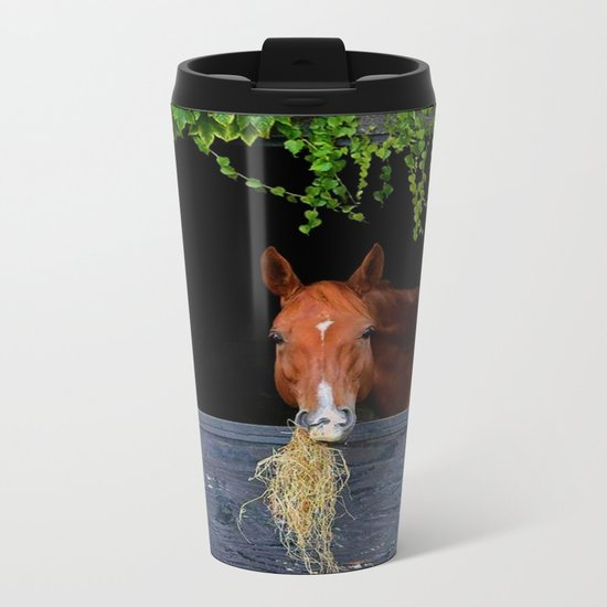Home is where the Horse is Metal Travel Mug