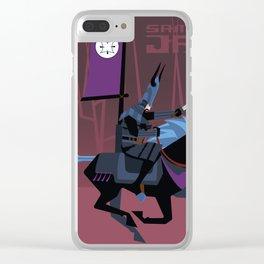 Last Ride of Samurai Jack Clear iPhone Case