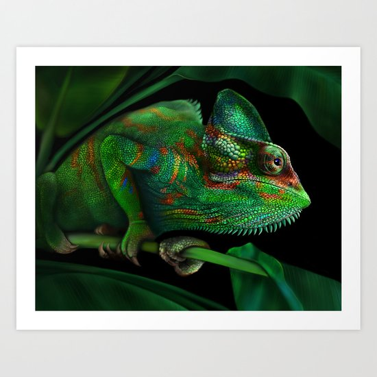 Chameleon by donnabrowning