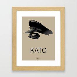 KATO Framed Art Print
