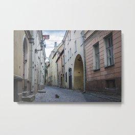 Tallin Metal Print