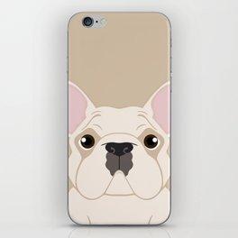 Frenchie - Cream iPhone Skin