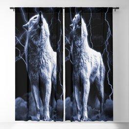 WHITE FANG Blackout Curtain