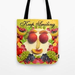 Keep Smiling! Tote Bag