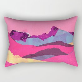 Candy Mountain Rectangular Pillow