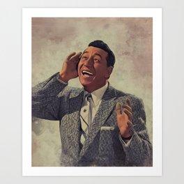 Louis Prima, Music Legend Art Print