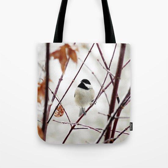 Chicka Chickadee Tote Bag