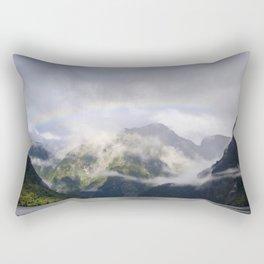 Rainbow to Nowhere Rectangular Pillow