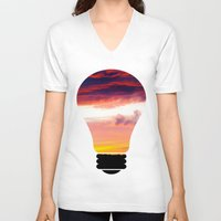 swedish V-neck T-shirts featuring Swedish midsummer 2 by Ordiraptus