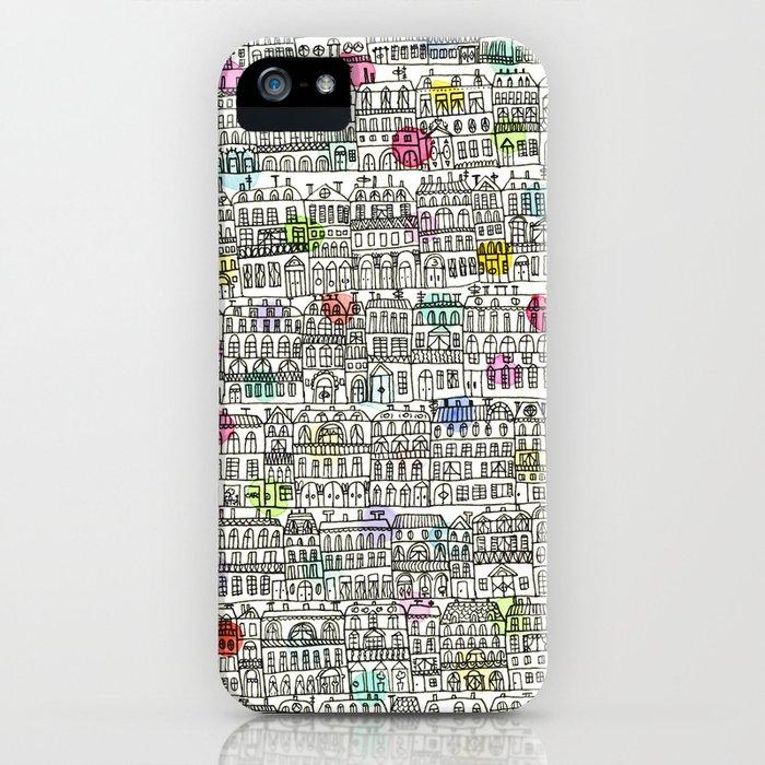 Parisian Cityscape iPhone Case