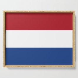 Netherlands flag Serving Tray