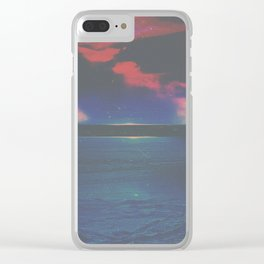 EYES WIDE OPEN Clear iPhone Case