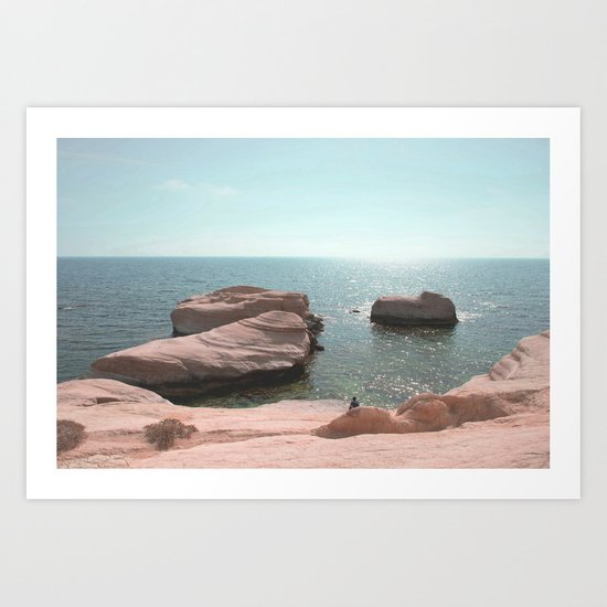 BEACH DAY 42 Art Print