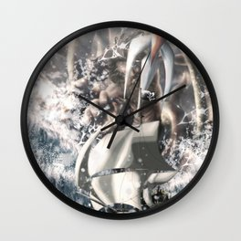 Poseidon Wall Clock