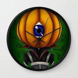 Pumpkin Jack Wall Clock