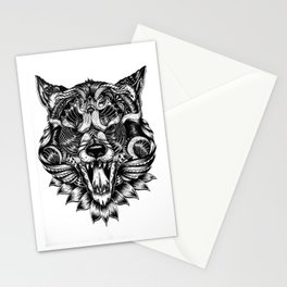 Feral Wolf Stationery Cards