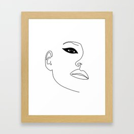Kate Eye Framed Art Print
