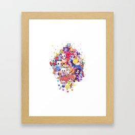 UNDERTALE MUCH CHARACTER Framed Art Print
