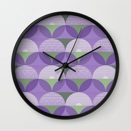 Lavender Fields Medium Wall Clock