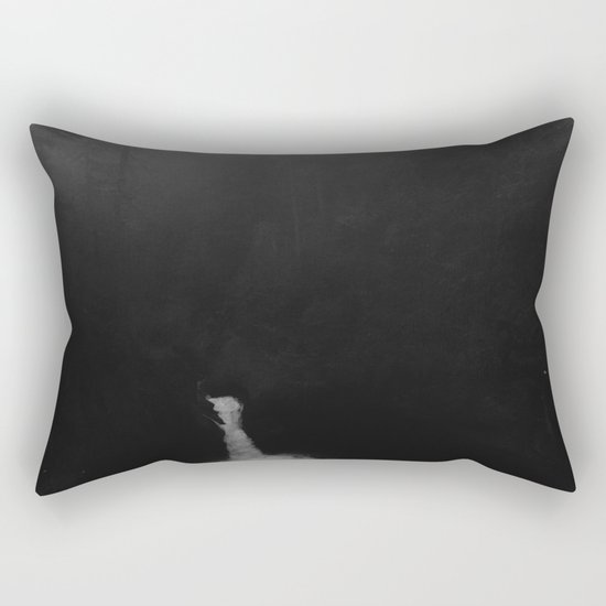 Dark Oregon Rectangular Pillow