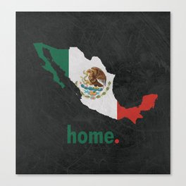 Mexico Proud Canvas Print