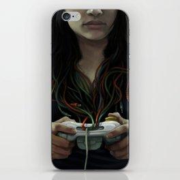 Gamer Girl iPhone Skin