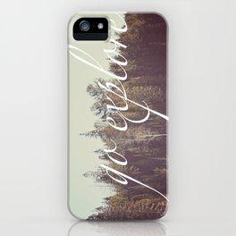 Go Explore  iPhone Case