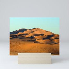 Sand Dunes Sahara Desert Landscape 21 Mini Art Print