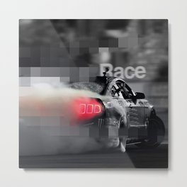 RaCe CaR>>> Metal Print