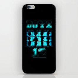 BOYZ 12 iPhone Skin