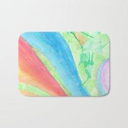 colors of the sea Bath Mat
