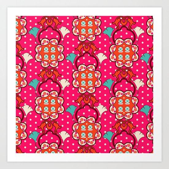 Jucy blossom Art Print