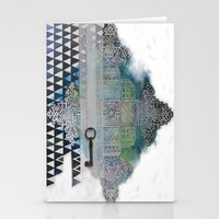 cross Stationery Cards featuring Cross by oxana zaika