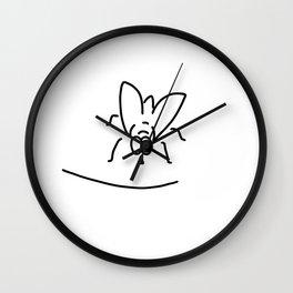flies room fly Wall Clock