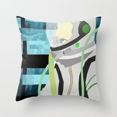 Kosmonaut Throw Pillow
