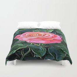 Trembling Flower of Enchantment Duvet Cover