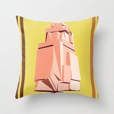 Rock Study Throw Pillow
